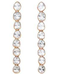 Sally Agarwal - Polki Diamond Drop Earrings - Lyst