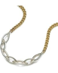 Naomi Tracz Jewellery - Marquise Chain Necklace - Lyst