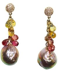 Lainey Papageorge Designs - Songline Earrings - Lyst