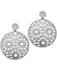Its Silver - Earrings Stars - Lyst