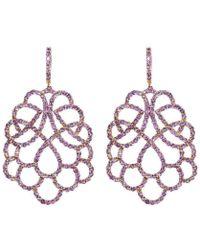 Mara Hotung - Amethyst Renaissance Earrings - Lyst