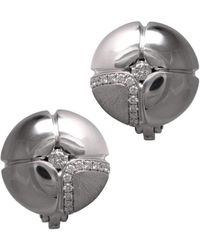 LO COCO AND KUBPART - Lilac Earrings White Gold - Lyst