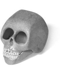 Flavie Michou - Silver Skull Ring - Lyst