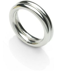 Naomi Tracz Jewellery - Two Band Ring Silver - Lyst
