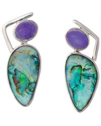 Lainey Papageorge Designs - Greening Of The Earth Ii Earrings - Lyst