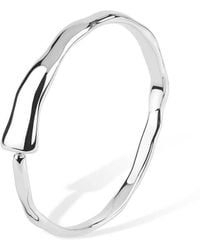 Lucy Quartermaine - Icicle Open Bangle - Lyst