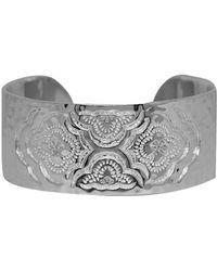 Murkani Jewellery - Sterling Silver Heavenly Cuff Bangle   - Lyst