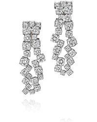Madstone Design - Diamond Melting Ice Earrings - Lyst