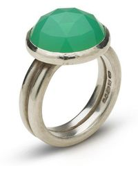 Naomi Tracz Jewellery - Rose Cut Chrysoprase Ring - Lyst