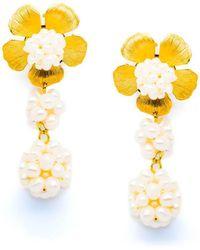 Pats Jewelry - Pompom Earrings - Lyst