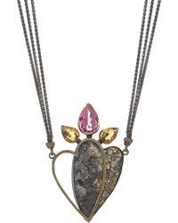 Nicofilimon - Desert's Flower Necklace - Lyst