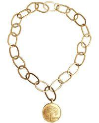 Apis Atelier - Coco De Mer Necklace - Lyst