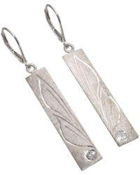 AVA Goldworks - Lilac Diamond Earrings - Lyst