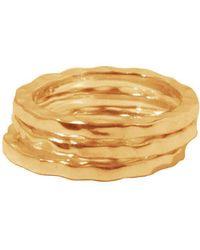 Murkani Jewellery - Gold Free Layering Ring Stack | - Lyst