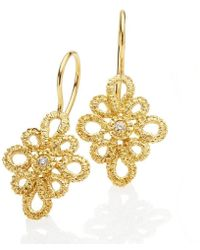 Brigitte Adolph Jewellery Design - Miss Medea Yellow Gold Earrings - Lyst