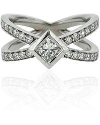 Flawless Jewellery - Princess Kiss Ring - Lyst