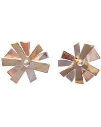 Andrew O Dell Jewellery - Morning Glory Studs - Lyst
