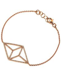 Bridget King Jewelry - Diamond Rose Kite Bracelet - Lyst