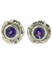 Erin Cox Jewellery - Serendipity Aura Stud Earrings - Lyst