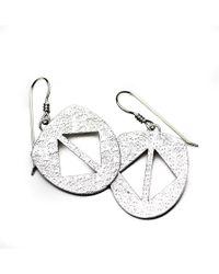 Meltdown Studio Jewelry - Desert Shield Earrings - Lyst
