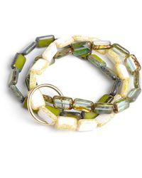 Eva Michele - Ocean Bracelet - Lyst