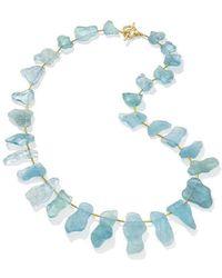LJD Designs - Tahiti Beach Bib Necklace - Lyst