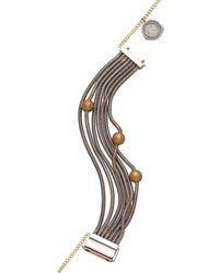 Franco Piane Designed By Franco Pianegonda - Waves Bracelet - Lyst