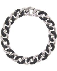 Cosanuova - Essential Black Id Bracelet - Lyst