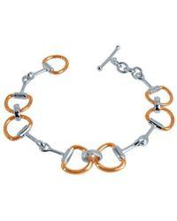 Pegasus Jewellery - Rose Snaffle Bracelet - Lyst
