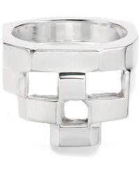 Gab McNeil - Stacked Ring - 925 Sterling Silver - Lyst