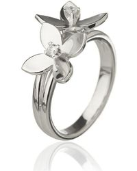 Asa Iceland - Forget Me Not Double Flower Ring - Lyst