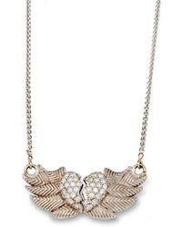 Katherine LeGrand Custom Goldsmith - Winged Heart Necklace - Lyst