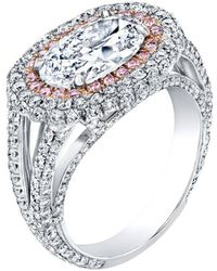 Harry Kotlar Oval Crescendo Ring