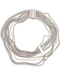 Franco Piane Designed By Franco Pianegonda - Loving String Necklace - Lyst