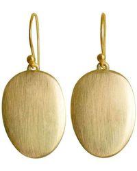 juniimjuli - Gold Baobab Earrings | - Lyst