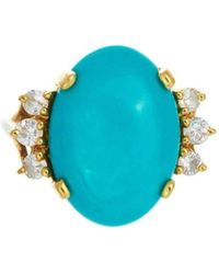 Alexis Danielle Jewelry - Turquoise Starburst Ring - Lyst