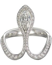 Baenteli - Royale Marquise Diamond Ring - Lyst