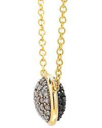 Syna 18kt Champagne Diamond Charm Bracelet Qkm7tWL