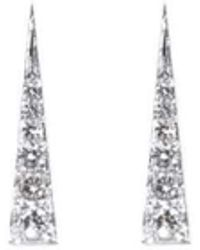 Daou Jewellery - Spark Earrings - Diamond - Lyst