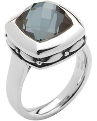 HERA - Zoe Black Ring - Lyst