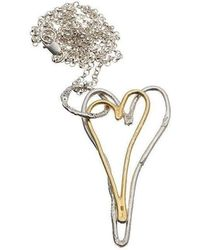 Kate Chell Jewellery - Heart Long Necklace - Lyst