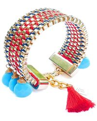 Clare Hynes - Red And Blue Jessie Bracelet - Lyst