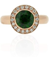 Flawless Jewellery - Luna Chrome Diopside Ring - Lyst