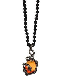 JS Noor - Guardian Necklace - Lyst