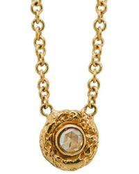 Susan Wheeler Design - Rose Cut Diamonds Necklace - Lyst
