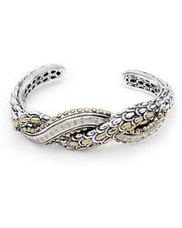 Deni Jewelry - Sisik Naga Kick Cuff Bracelet - Lyst