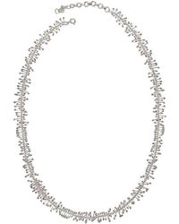 Juvi Designs - Antibes Coral Silver Necklace - Lyst
