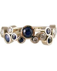 RING Jewellers - Blue And White Bubbly - Grand Ring - Lyst
