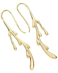 Lucy Quartermaine Drop Earrings Rose Gold Plated lfC8D068k8