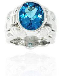 Kaufmann de Suisse - Cool Blue Waters Ring - Lyst